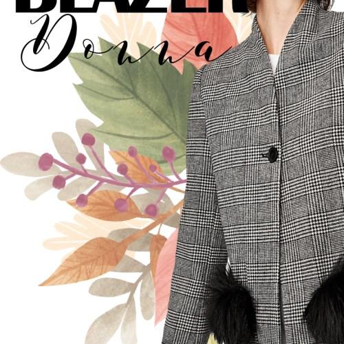blazer donna 2017