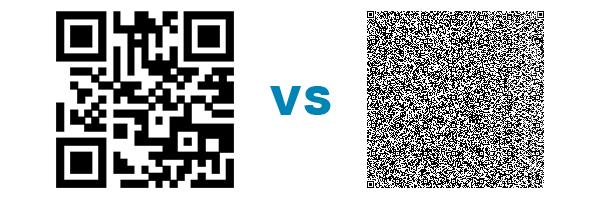 QR code comparison
