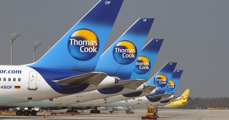 UK's Thomas Cook Collapses, Stranding 600,000 Holidaymakers