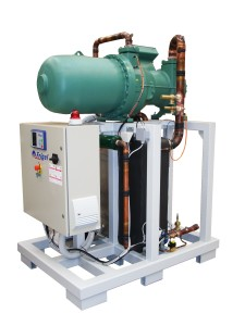Water-Cooled Heavygel EFX Chillers