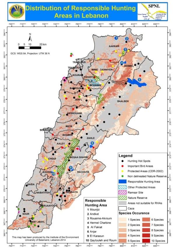 Map RHAs