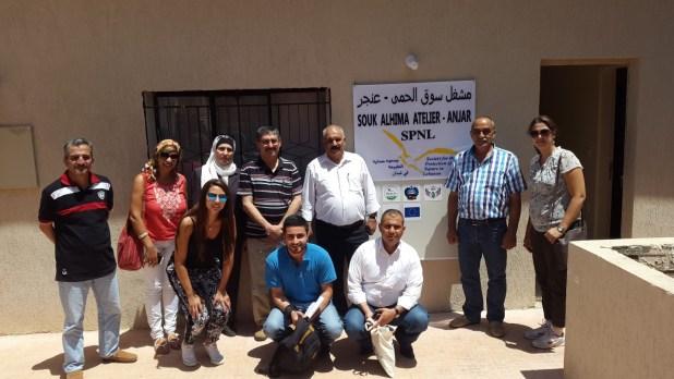 ordanian Officials visit Hima Anjar 3