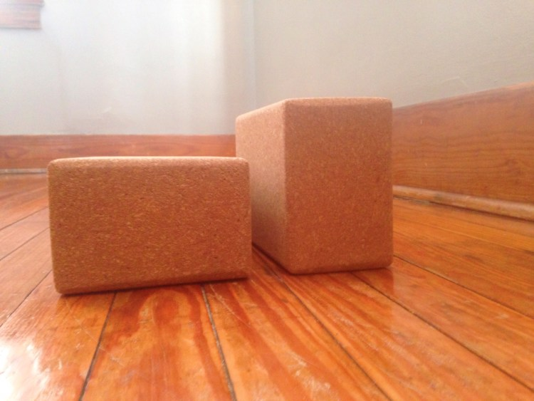 How to use blocks for support in restorative yoga prenatal yoga poses | SpoiledYogi.com