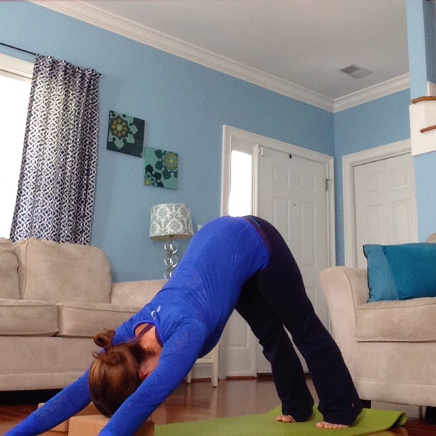 Downward Facing Dog |Adho Mukha Svanasana |Yoga Poses for Energy | spoiledyogi.com