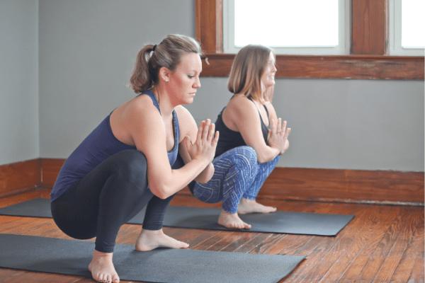 Yoga Squats During Pregnancy | 4 Variations