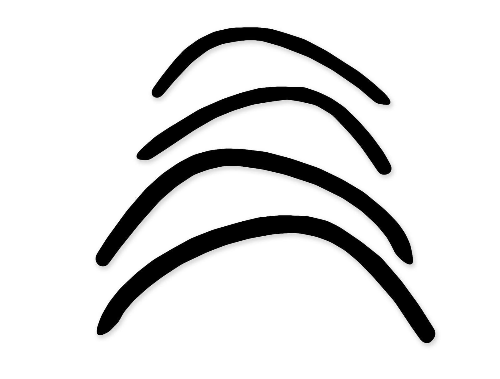 Lemy blatníků Citroen Xantia, 4/5-dvéř. liftback, černý