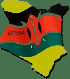 Children's outreach ministry in Kiminini, kenya