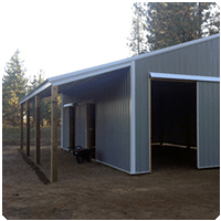 Optional Features for Pole, Fabric & Steel Building Construction