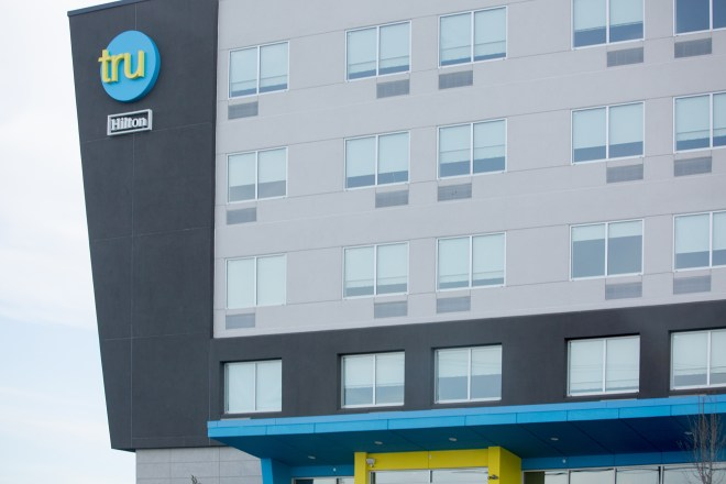 Photo of Tru hotel in Lancaster, PA.