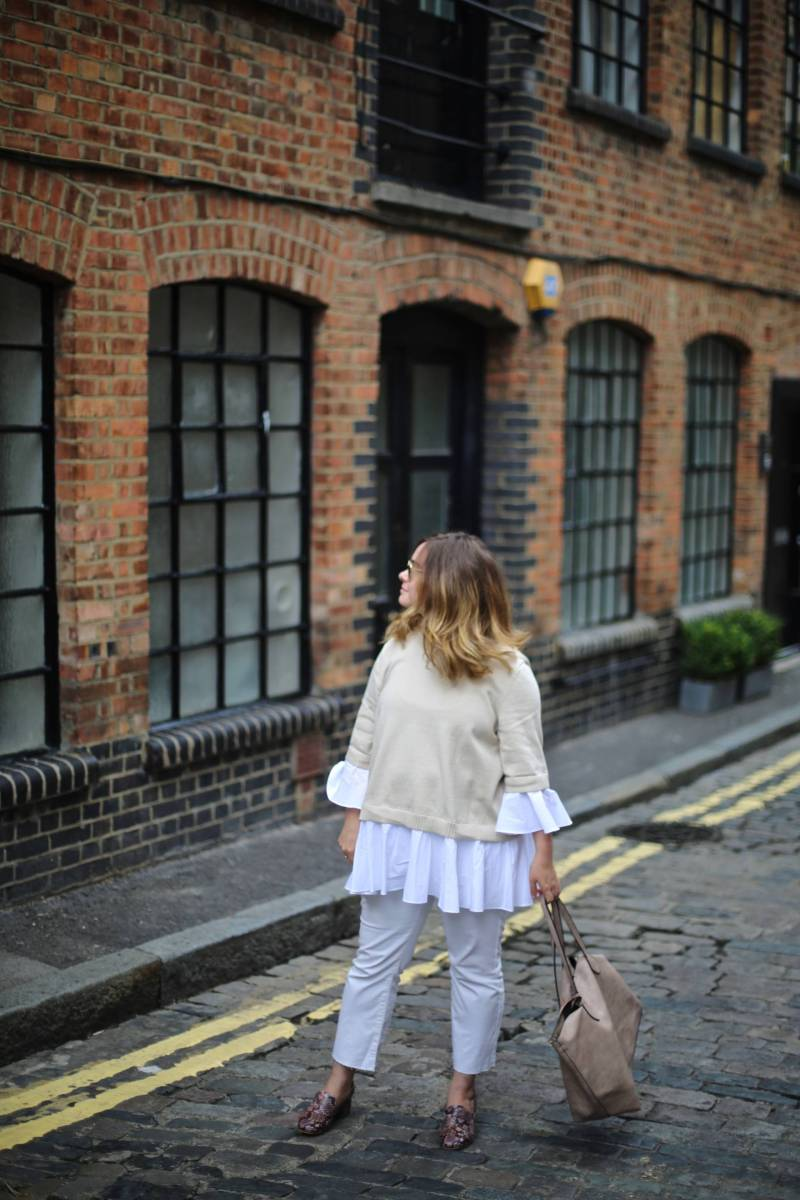 The perfect white jeans... for £8 and how to style them