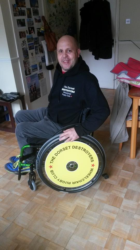 Dorest Destroyers Wheelchair Wheel Covers SpokeGaurds