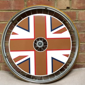 Gold Union Jack SpokeGuards
