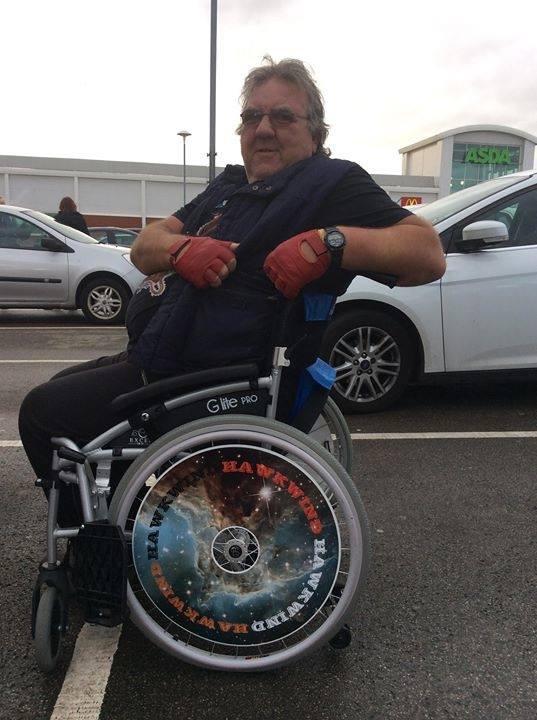 Hawkwind Wheelchair Wheel Covers SpokeGuards