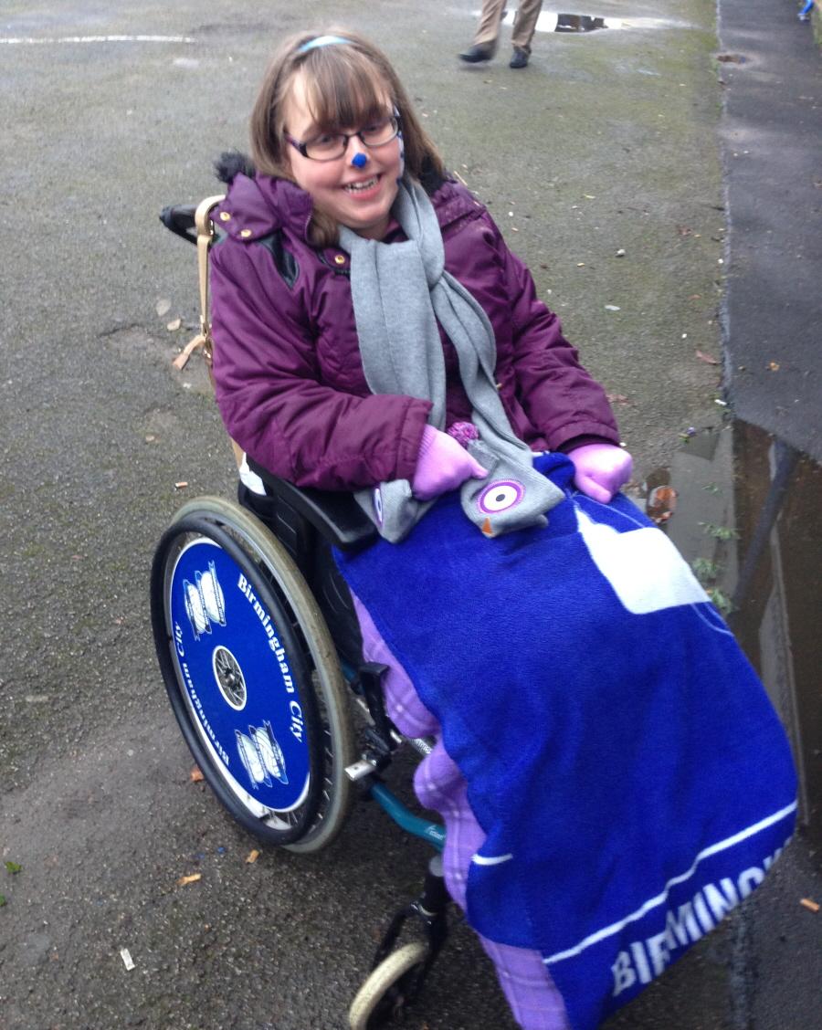 Birmingham City Wheelchair Wheel Covers SpokeGuards