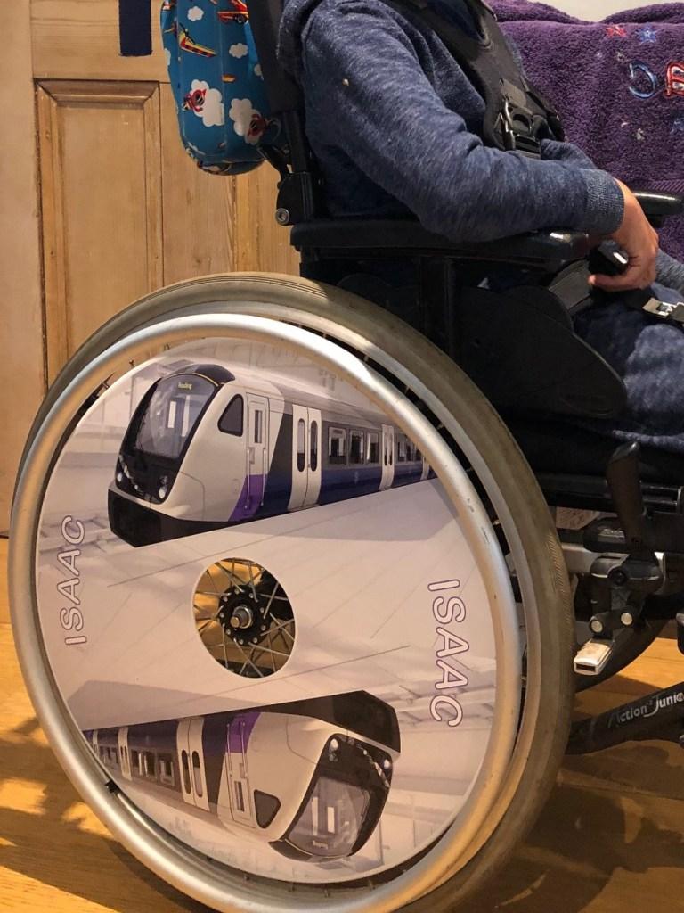 Issac's train SpokeGuards wheel covers