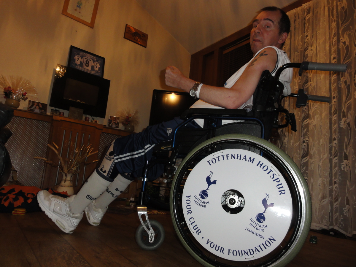 Tottenham Hotspur Wheelchair Wheel Covers SpokeGuards