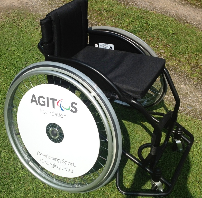 Charity SpokeGuards wheelchair wheel covers