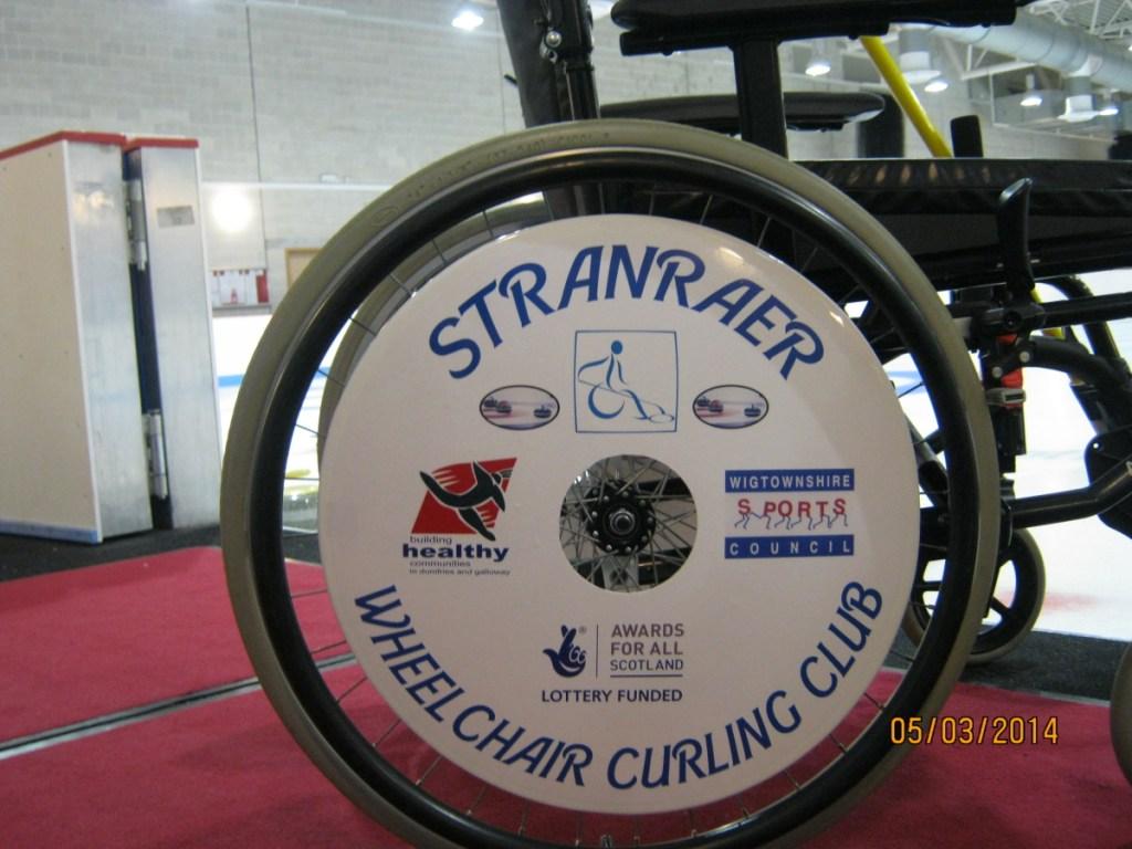 Stranraer Wheelchair Curling Club SpokeGuards