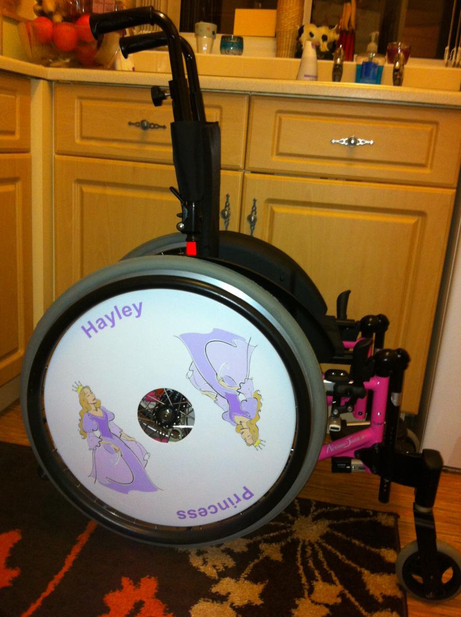 Princess Wheelchair Wheel Covers SpokeGuards