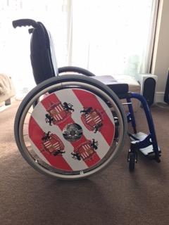 Sunderland SpokeGuards Wheelchair Wheel Covers