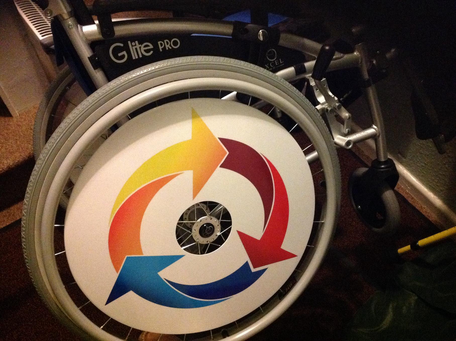 Arrow Wheelchair Wheel Covers SpokeGuards