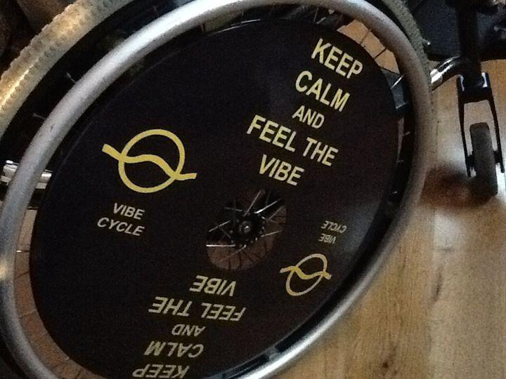 Keep Calm Wheelchair Wheel Covers SpokeGuards