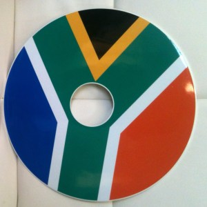 South African Flag SpokeGuards