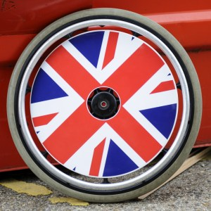 Union Jack SpokeGuards