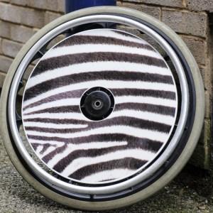 Zebra Skin SpokeGuards