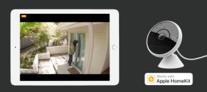 Logitech home security camera started working with Apple HomeKit