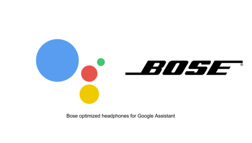 Google assistant with Bose