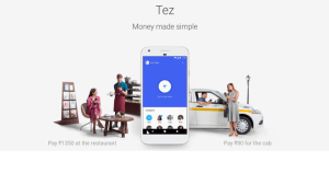 Google TEZ launched in India