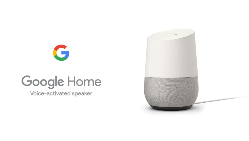 Google home as broadcaster