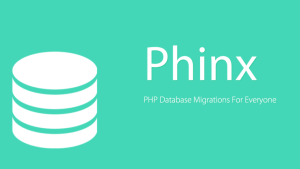 How to migrate database using Phinx in PHP