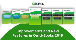 Enhancements and Improvements in QuickBooks Desktop 2019