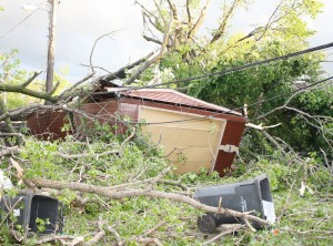 Tornado hits North Minneapolis on May 22, 2011.  Photo by James L. Stroud, Jr.