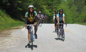 Major Taylor Bicycling Club participants Photo courtesy of Major Taylor Bicycling Club