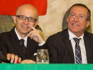 Claudio Ricci ed Aldo Tracchegiani