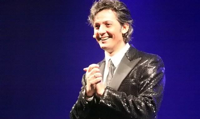 Rosario Fiorello al teatro Gian Carlo Menotti a Spoleto
