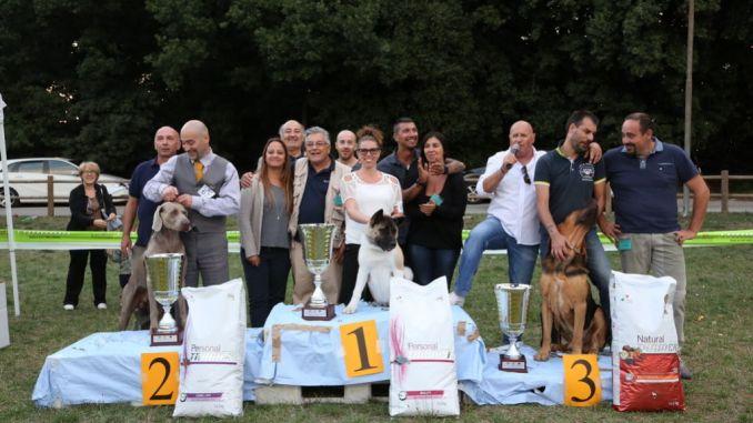 Esposizione Nazionale Canina, successo per Città di Spoleto2015