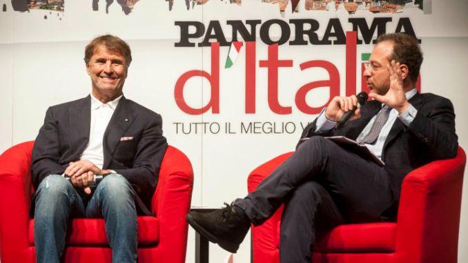 Brunello Cucinelli dona cinquemila euro a Spoleto