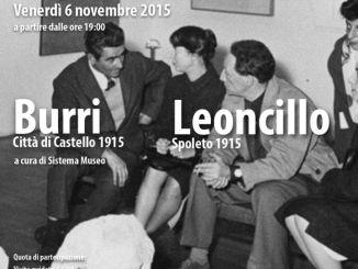 """Palazzo Collicola, """"Mezz'ora dopo la chiusura"""" dedicata a Leoncillo e Burri"""
