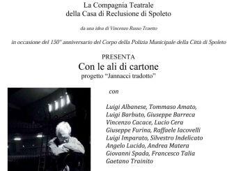 Con le Ali di cartone - Jannacci Tradotto, spettacolo alla Casa di Reclusione di Spoleto