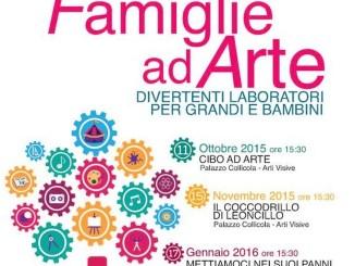 Famiglie ad arte, creiamo al Museo Carandente, Palazzo Collicola Arti Visive