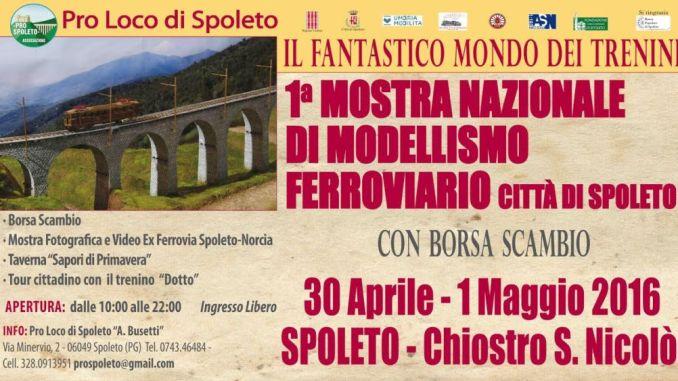 Modellismo Ferroviario, a Spoleto la Prima Mostra Nazionale