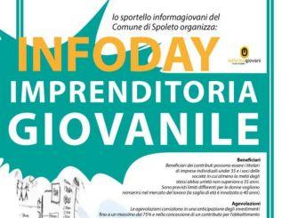 Spoleto, Infoday all'Informagiovani sull'imprenditoria giovanile