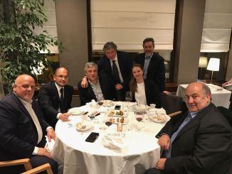 Il Sindaco Cardarelli incontra a Bruxelles il Presidente del Parlamento Europeo Antonio Tajani