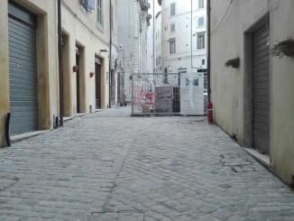 Proseguono i lavori in Piazza del Mercato e in via delle Felici