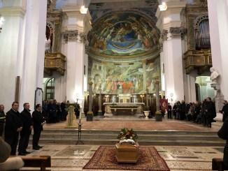 Celebrati in duomo a Spoleto i funerali del sindaco Fabrizio Cardarelli