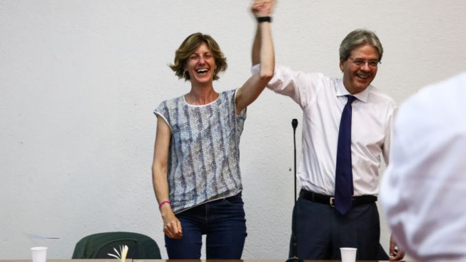 Gentiloni a Spoleto per supportare Camilla Laureti Sindaco